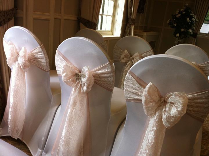 Phenomenal Wedding Chair Covers Flowers Sparkle Florist Sittingbourne Bralicious Painted Fabric Chair Ideas Braliciousco